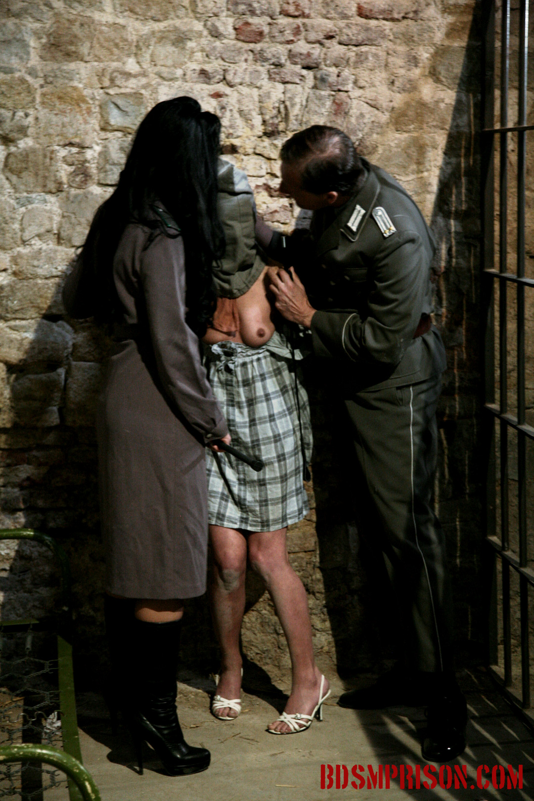 Domination bondage nipple anguished with mirela  mirela is caught on the grounds of reverend mothers property  a camera is found in her handbag  she says she s a reporter for the local newspaper  it seems she has criminal intent  she could be a spy she ha. Mirela is caught on the grounds of Reverend Mothers property. A camera is found in her handbag. She says she's a reporter for the local newspaper. It seems she has criminal intent. She could be a spy! She has earned punishment and must be imprisoned right away. Two guards pull her into an interrogation room, going through her purse. The find lipstick, brush and mirror, taunting her by smearing her face with paint and pulling her with cruel brush stroke.
