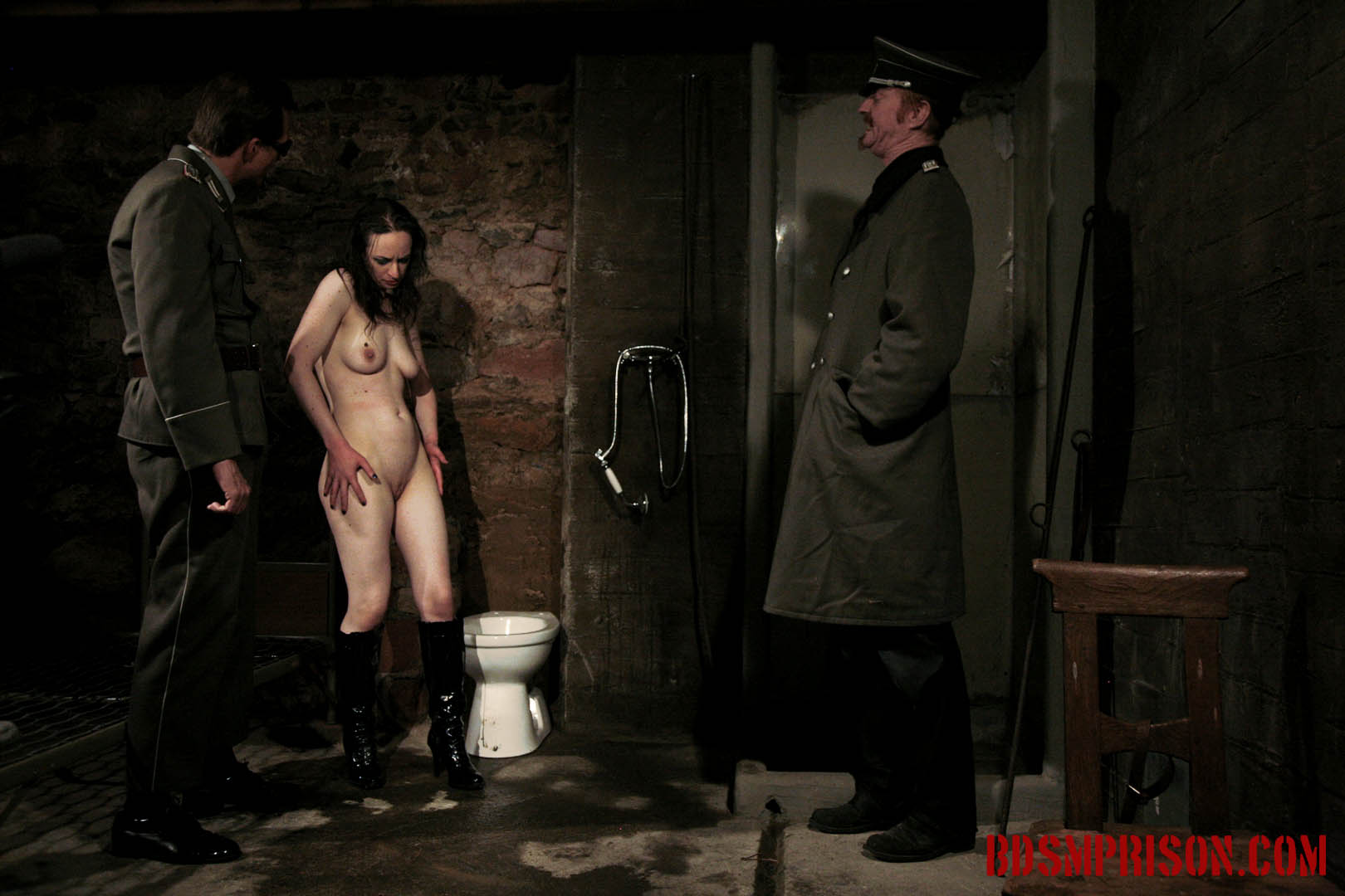 Domination degradation deepthroat bj with nadja. Nadja is punish daily by two prison guards. She's been sentenced to lifelong sex slave traininig. She wakes up bound to a chair with a sack over her head in the basement of our institute. She must endure two BDSM Prison Masters, domination, humiliation, fingering, spanking, smacking, whipping, bondage, breast, cunt and nipple torment.